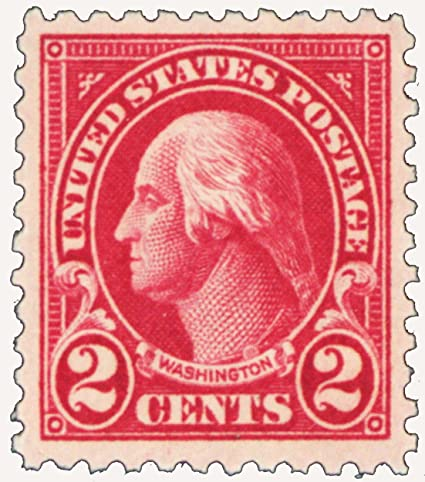 Amazon Series Of 1922 25 2 Cent Washington Mint Never Been Hinged Stamp Scott 554 By USPS Everything Else