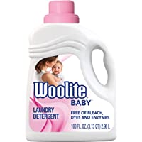Woolite Baby, Hypoallergenic Laundry Detergent, Mega Value Pack, 2.96 L, Free Of Harsh Chemicals 1 Count