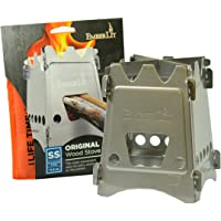 Emberlit Stainless Steel Stove,Compact Design Perfect for Survival, Camping, Hunting & Emergency Preparation