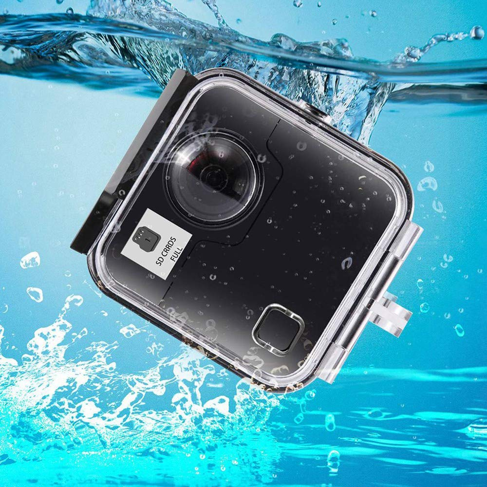TOOGOO Underwater 45M Waterproof Case Housing Diving Protective Shell Cover for - Fusion 360 Water Sports Action Camera