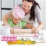 Sanbanfu Fun Real Baking Set with Kids Unicorn