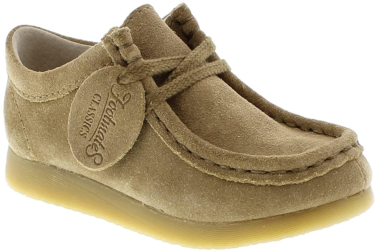 FootMates Child Wally Low Laceup Wallabee Oxford (Toddler/Little Kid) Dirty Buck