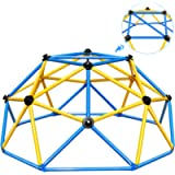 Zupapa 6FT Outdoor & Indoor Geometric Dome Climber with 750LBS Weight Capability, 3-Year Warranty,Suitable for 1-6 Kids…