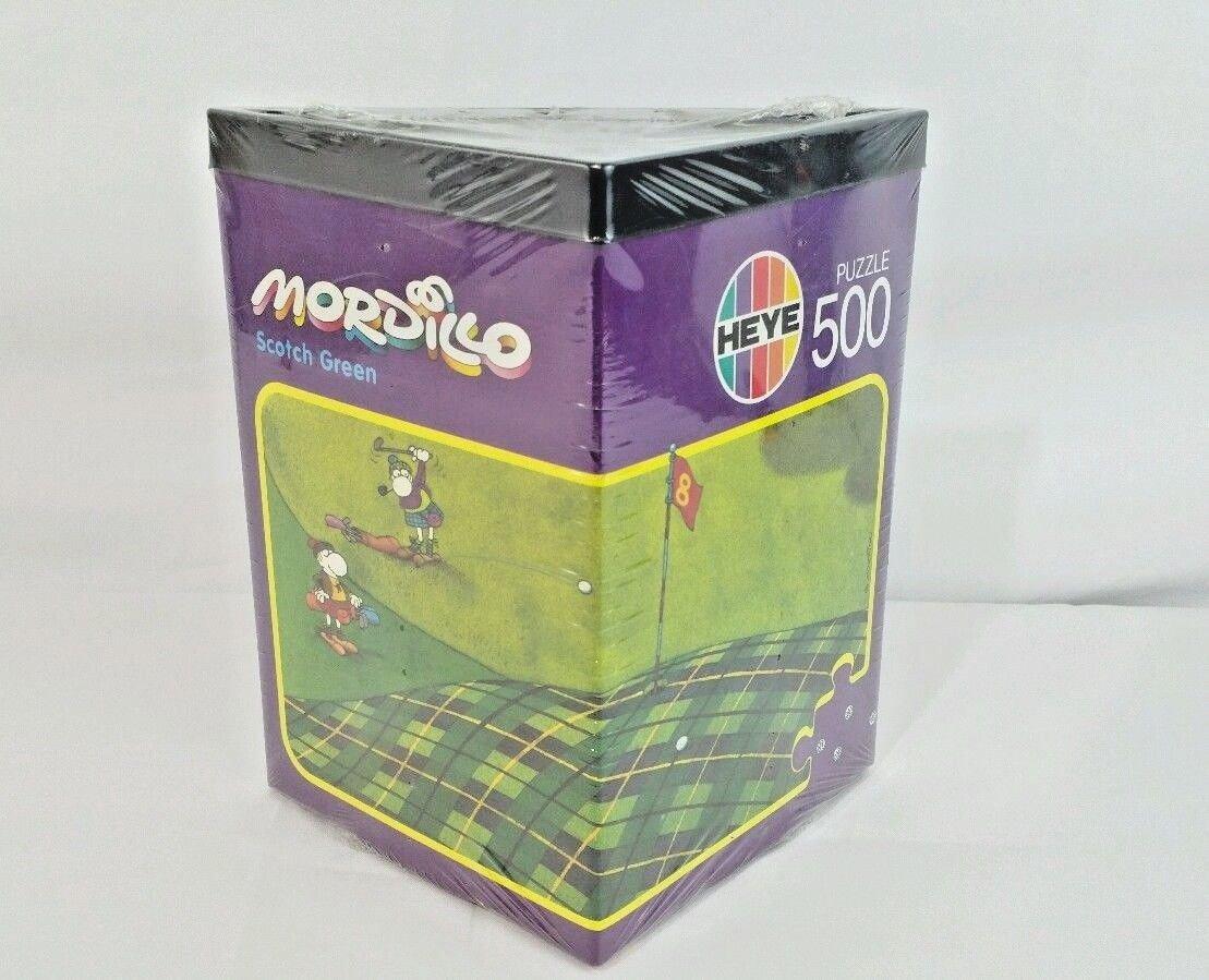 【当店限定販売】 Heye Mordillo ジグソーパズル ジグソーパズル Mordillo 500ピース スコットランドグリーン B07FXSSVBF B07FXSSVBF, e-adhoc:a1a8e957 --- 4x4.lt