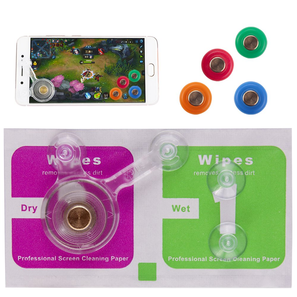 Phone Game Controller, Joystick, Gamepad and Buttons for Android, iOS, iPhone, iPad