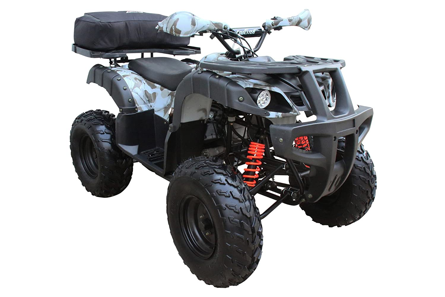 Amazon.com : Coolster 3150DX-2 150cc Adult ATV Army Black : Sports &  Outdoors
