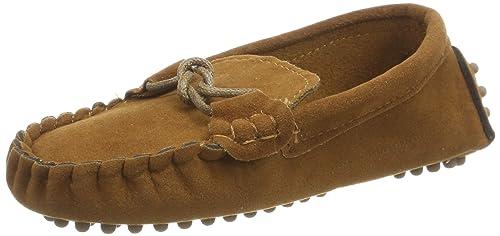 ecf6c3616c8ed ... Niños Gamuza Mocasines de Cuero Ponerse Pisos Moda Loafers Niña Casual  Zapatos Para Caminar Plano Tacón Comodidad  Amazon.es  Zapatos y  complementos