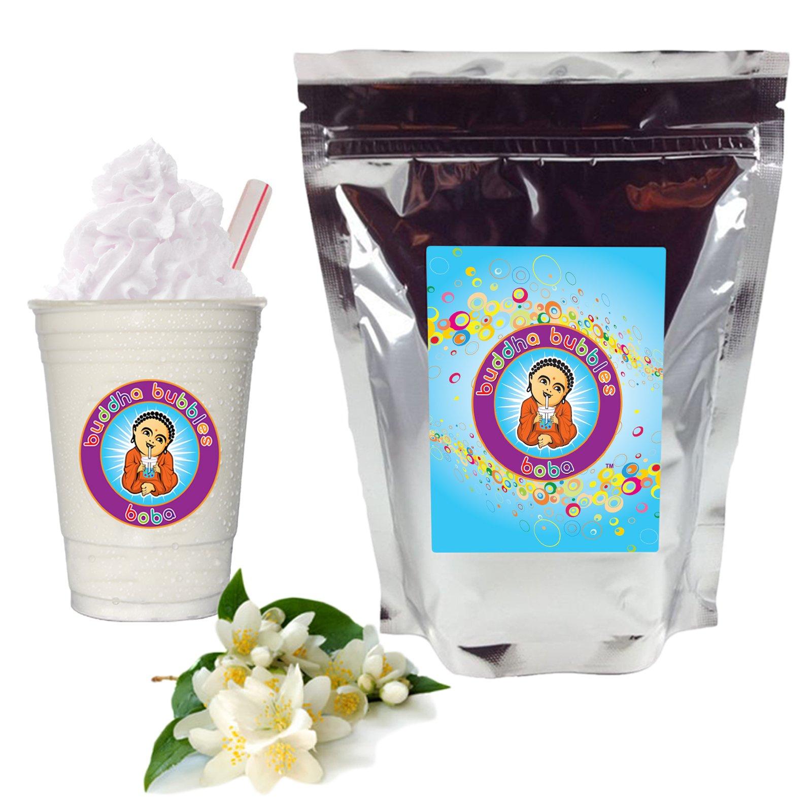 Jasmine Milk Tea Boba/Bubble Tea By Buddha Bubbles Boba 10 Ounces (283 Grams)
