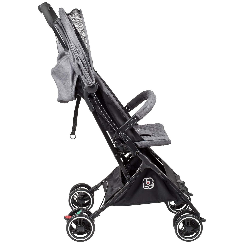 BabyGo Buggy Micro Reisebuggy nur 4,9 Kilogramm grey//grau 6802