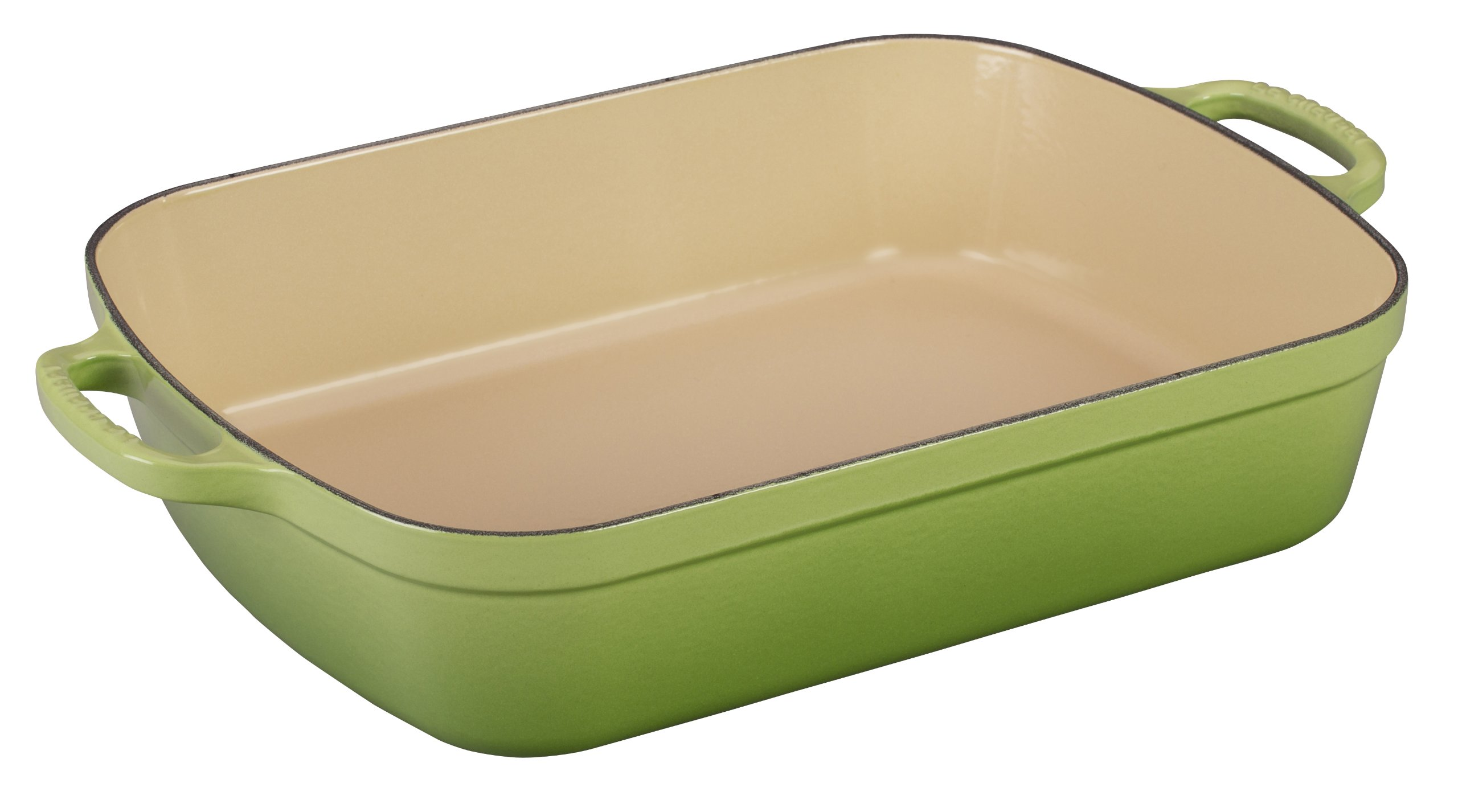 Le Creuset Signature Cast Iron Rectangular Roaster, 5.25-Quart, Palm product image