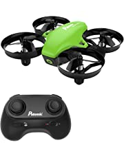Potensic Mini Drone, A20 Altitude Hold Quadcopter Drone 2.4G 6 Axis Headless Mode Remote Control Nano Quadcopter for Beginners - Green