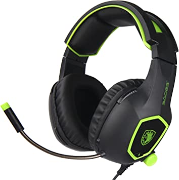 SADES SA-818 Gaming Headset Headphones Stereo Surround for PS4 Xbox One PC w//Mic