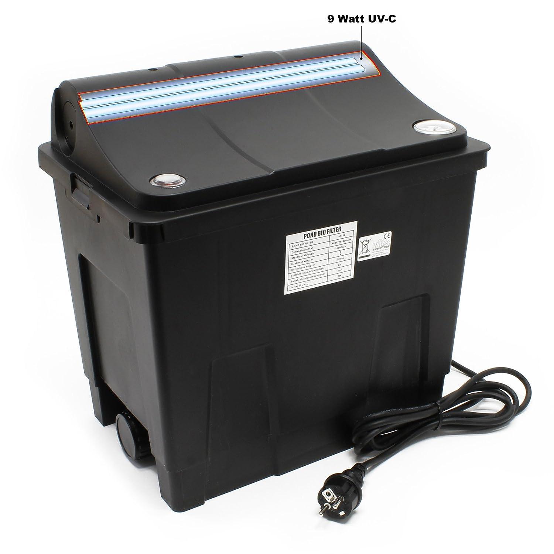 SunSun Filtre Biologique CBF-200U + Unité UV