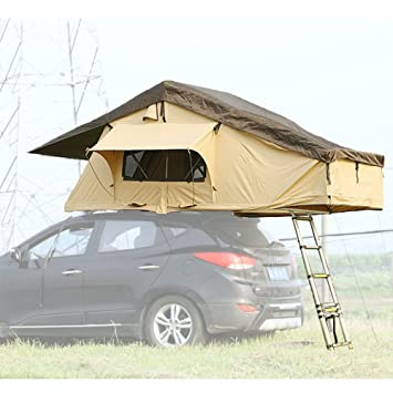 YAAO Vehicle Rooftop Tent SUV Car Folded Tent & Amazon.com : YAAO Vehicle Rooftop Tent SUV Car Folded Tent ...