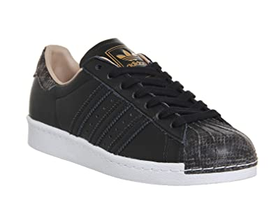 adidas Superstar 80s Metallic Pack, Herren Sneakers, Schwarz