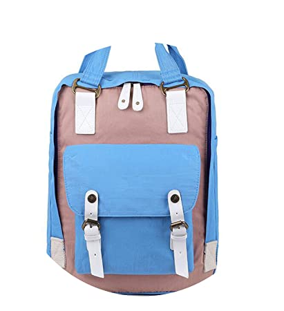 Amazon.com: Students Fashion Backpack Mochila Feminina Mujer 2018 School Bags Bolsa Escolar Bagpack,Light Blue Pink: Computers & Accessories