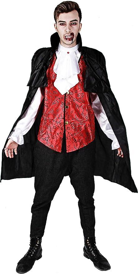 D Y S M A D Gojoy Shop- Disfraz de Vampiro para Adulto Halloween ...