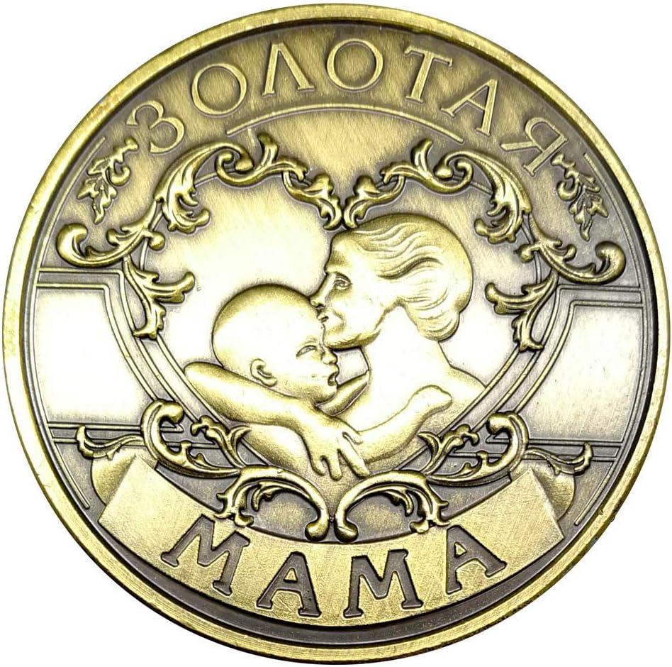 YunBest - Moneda Conmemorativa para Madre y mamá, Regalo para la ...