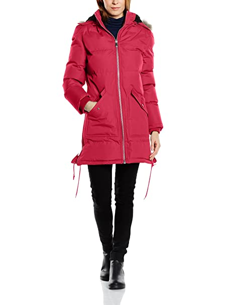Geographical Norway Abrigo Canelle Rojo 2XL (44/46): Amazon.es: Ropa y accesorios