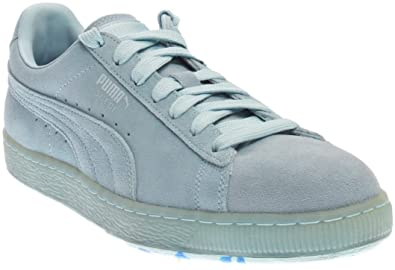 low priced ee40b 70f88 PUMA Mens Suede Classic Ice Mix Casual Athletic & Sneakers