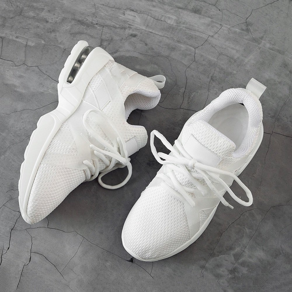 Sandalen GYHDDP Damenschuhe Frühling Breathable Turnschuhe Net Schuhe 2 Farbe Optional Größe Optional (Farbe   Weiß größe   37)