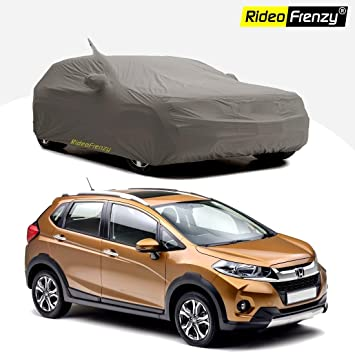 Rideofrenzy Honda Wrv Body Cover With Mirror Antenna Pocket Uv