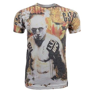 UFC Camiseta de artes marciales mixtas de hombre Ultimate Fighting Championship, hombre, GSP,