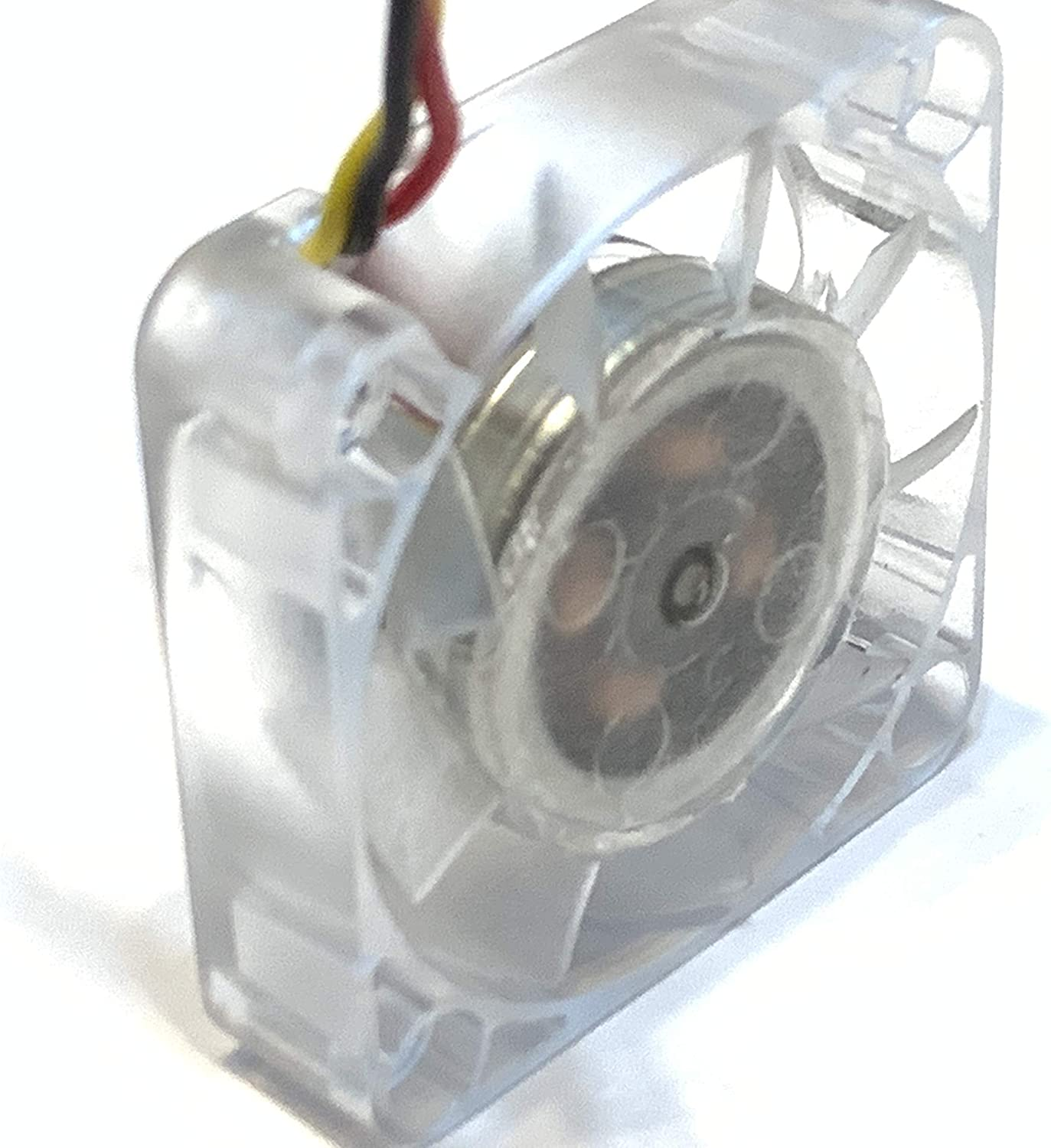 2 Pieces Blue LED mini 12V 4010 40x40x10mm DC Cooling Fan micro brushless A15