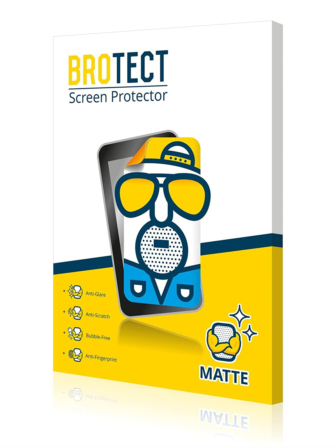 2x BROTECT Matte Screen Protector for Leica D-LUX 6, Matte, Anti-Glare, Anti-Scratch