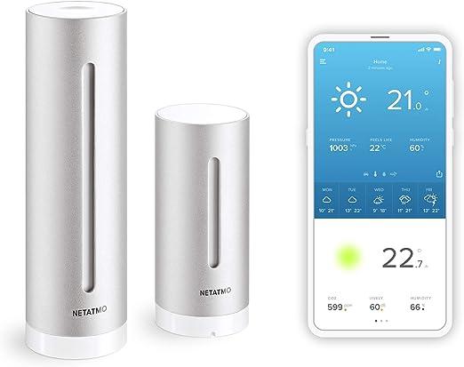 Estación meteorológica Netatmo para Smartphones: Amazon.es: Jardín