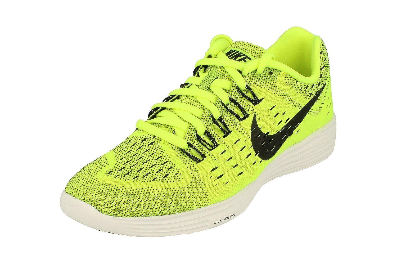 buy popular cc177 6e650 Amazon.com   Nike Lunartempo Mens Running Trainers 705461 Sneakers Shoes  (UK 5.5 US 6 EU 38.5, Volt Black White Black 700)   Road Running