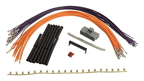 71P9V8bX4XL._SX463_ amazon com crown automotive 5183442aa wiring harness repair kit