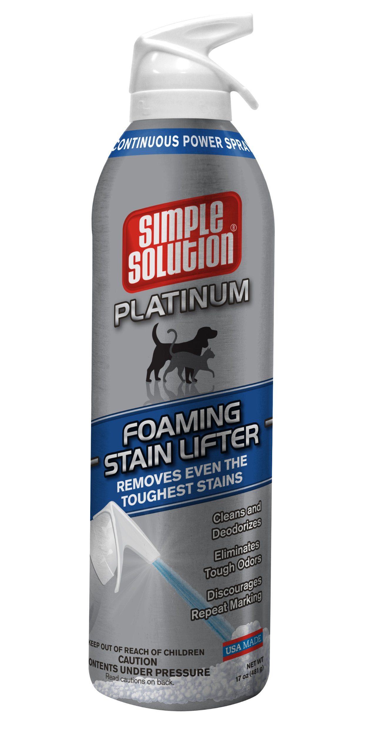 Simple Solution Platinum Foaming Stain Lifter, 17-Ounce