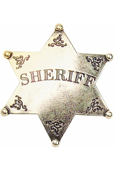 Details about  /Metal Sheriff Badge Bronze Western Cowboy Badge Deputy Sheriff/'s Toy Badges f...