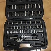 AmazonBasics - Juego de llaves (123 unidades): Amazon.es: Bricolaje y herramientas