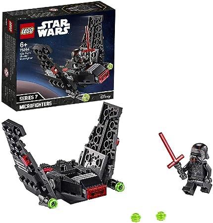 LEGO Star Wars - Microfighter: Lanzadera de Kylo Ren, Set de ...