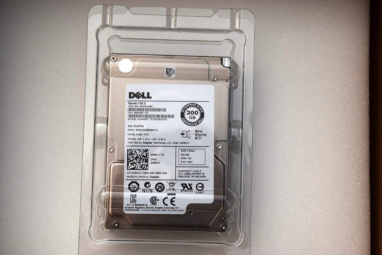 NEW PULL Renewed DELL 9SW066-150 300GB 15K SAS 6G 2.5IN SFF HDD W// R SERIES TRAY