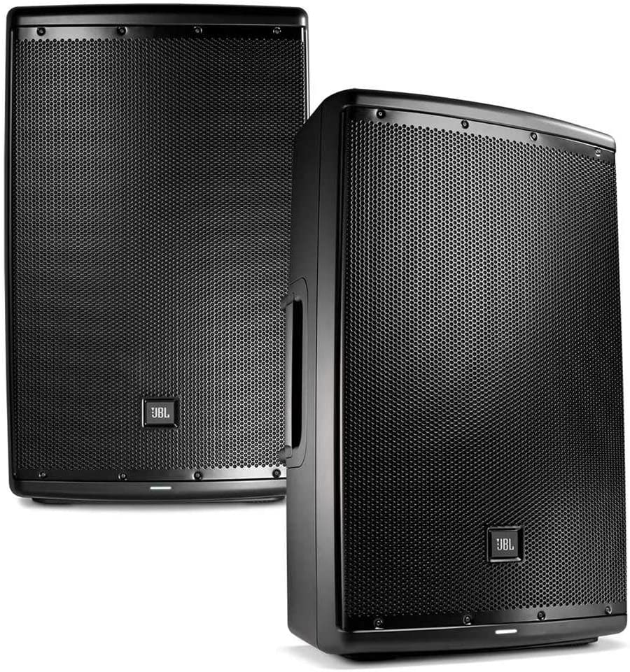 JBL EON 9 9 in Powered PA Speaker Pair Bundle
