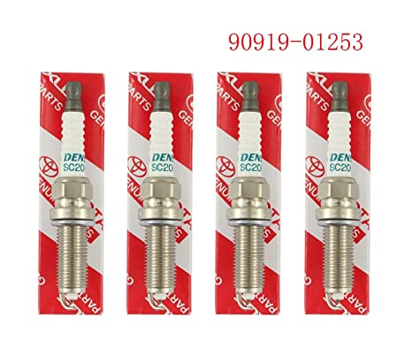 Xa 4 x tóner Bujía de iridio denso 3444 sc20hr-11 para Toyota 90919 –