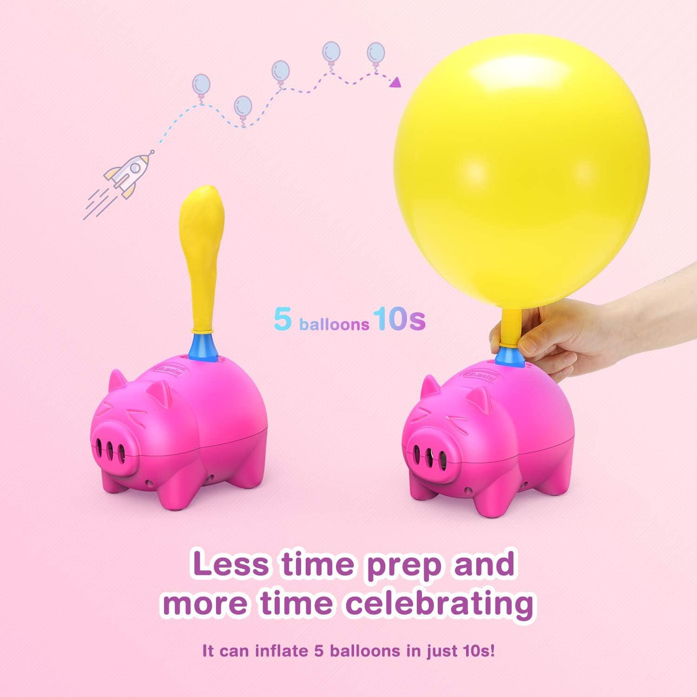 Anniversaire f/ête Dr.meter Pompe /à Ballon /électrique Portable pour d/écoration de No/ël d/écoration de f/ête Mariage