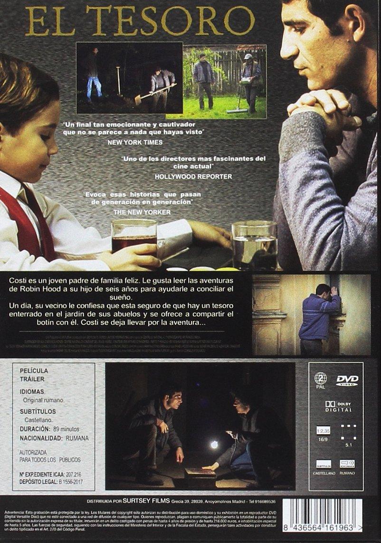 El tesoro [DVD]: Amazon.es: Toma Cuzin, Adrian Purcarescu, Corneliu Cozmei, Cristina Cuzina Toma, Nicodim Toma, Dan Chiriac, Iulia Ciochina, ...