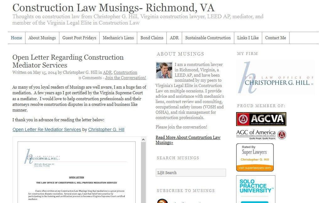 Amazon com: Construction Law Musings- Richmond, VA: LEED AP