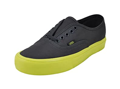 Vans Unisex Shoes Authentic Lite (Pop Sole) Gray Fashion Skateboarding  Sneakers (13 Men s 10ca4b4ee