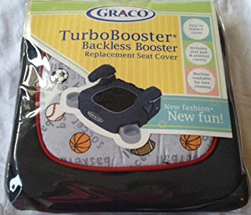 Graco Child Sports Turbobooster Backless Booster Replacement Seat Cover