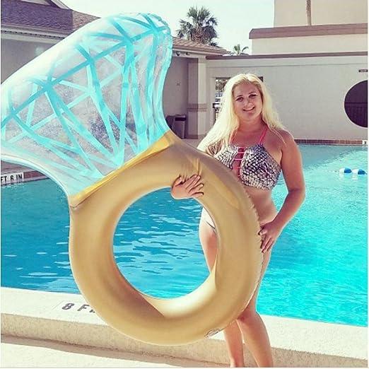 Flotador con forma de diamante para la piscina, divertido, para adultos: Amazon.es: Bricolaje y herramientas