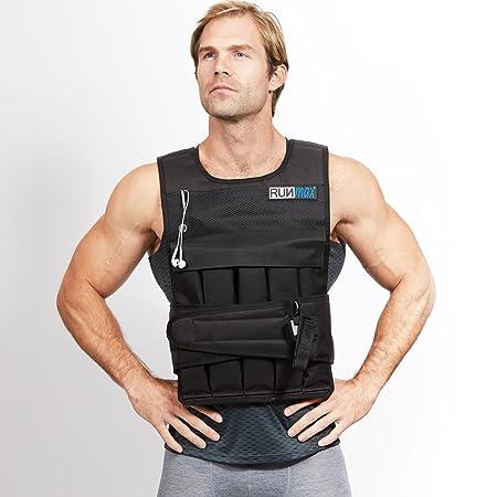 RUNFast Max 12lbs-140lbs Adjustable Weighted Vest