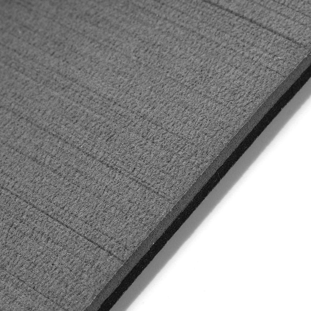 Barco Plataforma Hoja 2400x450x6mm gris marina Suelos imitaci/ón de teca espuma de EVA Alfombra del piso