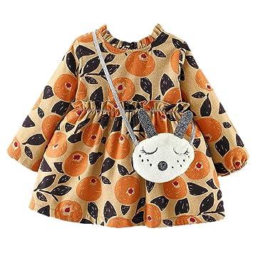 2f4c6d5ad5848 葉 果物 花柄 プリント フリル 袖 プリンセススカートドレス+ヘアバンドセット かわいい ワンピース