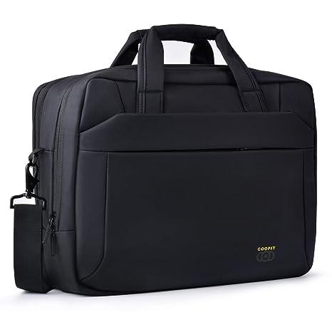 COOFIT Borsa laptop Borsa computer portatile 15.6 pollici Borsa notebook  Borsa ufficio uomo Borsa ventiquattrore uomo 7362913d4ae