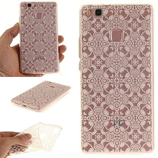 12 opinioni per Cover Huawei P9 LITE Wanxida Custodia in Silicone TPU Cover Trasparente Chiaro